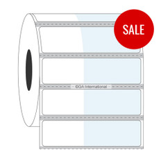 "Cryo & Autoclave Resistant Wrap-Around Labels - 1"" x 0.625"" +1.375""  #WTT-312 Black Mark"