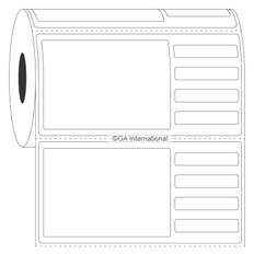 """Autoclave Piggyback Labels - 4"""" x 2""""  #PAUTR-2"""