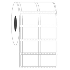 "Cryogenic Piggyback Labels With Tabs - 1"" x 0.75""  #PCTT-3"