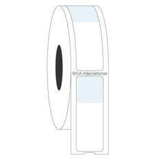 "Thermal Transfer Wrap-Around Cryo Labels - 0.59"" x 1.06"" + 0.59"" wrap  #HBTT-338NPNOT"