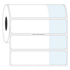 "Cryo Cover-Up Label for Frozen Vials - 2.75"" x 1"" + 1.25"" wrap  #AEA-6"
