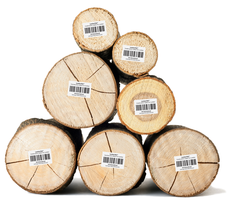 "Construction Labels for Lumber  3"" x 2""  #LMB-56"