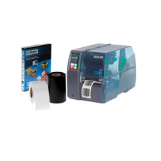 CAB SQUIX 4 (600 dpi - Professional Version Software) Industrial Printing Kit  #PKT-SQ-61