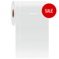 """Thermal Transfer Transparent Label for Freezers - 3"""" x 4.75""""  #LQ-AHA-501NOT"""
