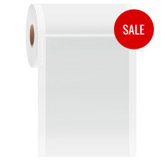 """Thermal Transfer Cover Up Labels for Flat Surfaces - 4"""" x 5""""  #LQ-L2FC-9"""