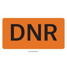 """DNR"" Labels - 2"" x 1""  #H-PPL-04440"