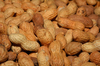 Raw Peanuts, In Shell 4lb