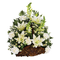 With Deepest Sympathy Basket