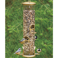 Aspects Extra Large Antique Brass Quick Clean Bird Feeder