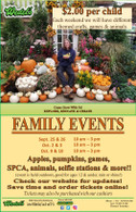 Family Event Oct 9 (10a-3p)
