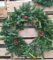 "30"" Noble Fir Wreath"