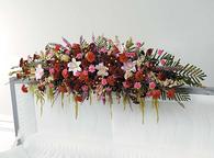 Floral Casket Topper