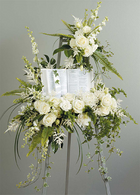Faithful Wishes Standing Easel