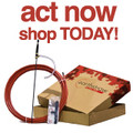 "EarthStraw ""Code Red"" 8 Foot Pump System"