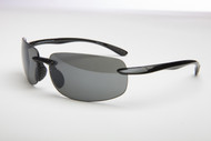 2.0 Newport Black Sun-Reader Polarized Sunglasses