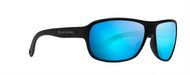 Brynn - Matt Black Frame - Blue Mirror Lens