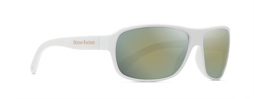 Classic rectangular 8 base curve lens set in a frame designed for a woman's face.