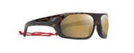 Nassau Tortoise with Gold Mirror Polarized Lenses