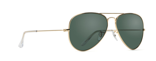 aviator sunglasses at an angle