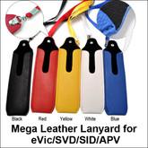 Mega Mod Leather Lanyard