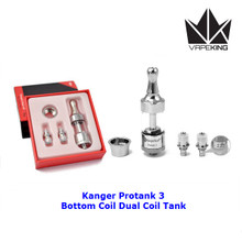 Kanger Protank 3 Dual Coil Glass Tank Kit