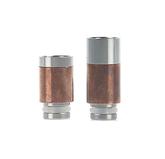 510 SS + Copper Wide Bore Drip Tip | VapeKing