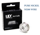 Nickel Ni200 Wire (99% Nickel) - 10m Roll  | VapeKing