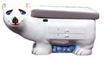 Polar Bear Pediatric Examination Table