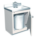 Lead Lined Waste Cabinet