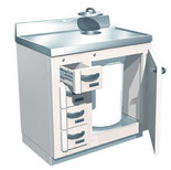 Lead Lined Waste and Storage Cabinet