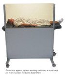 Clear-Lead Mobile Nuclear Medicine Barrier