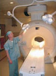MRI Dual Pod Ceiling Mount Light