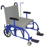 Folding Bariatric Portering Chair