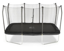 PLUM® 8FT X 14FT RECTANGULAR SPRINGSAFE® TRAMPOLINE & ENCLOSURE