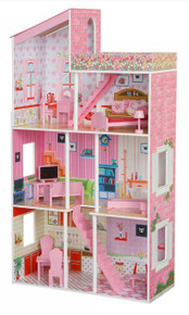 PLUM TILLINGTON WOODEN DOLLS HOUSE