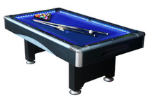 Action 7ft LED Pool Table with Accessories