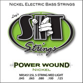 S.I.T. Strings NR545105L - Power Wound 5 String Bass Nickel Light (45-125)