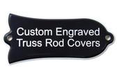 Custom Engraved truss rod cover for Gibson guitars