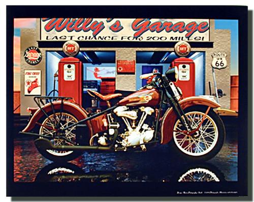 Custom Harley Davidson Signs