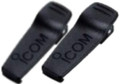 A pair of IC-F3011 or F4011 radio spare or replacement heavy duty spring loaded belt clips by Icom.  Works with the BP-230N or BP-232N battery packs. Get yours today!