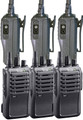 IC-F4001 Six Pack of professional UHF radios is a great value. This 4 watt package is perfect for your business.