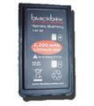 Black Box Plus 2200 mAH Lithium Ion High Capacity battery made for Blackbox+ Radios is Slim, Lightweight, and fits standard charger. Premium cells with a longer life.