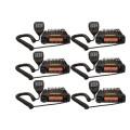 The Six Pack BlackBox Mobile UHF Radio. 16 channel UHF 40 watt two way business radios.