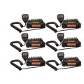 The Six Pack BlackBox Mobile UHF Radio. 16 channel UHF 40 watt two way business radios.