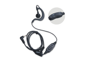The HYT EHS09 Conventional Earpiece with PTT and VOX.