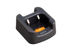 The  Hytera CH06L01 Rapid-Rate Charger for TC-310 OBR and TC-320 2-way radios.