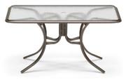 "Telescope Casual 32""x56"" Rectangular Acrylic Dining Table"