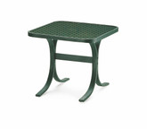 "Telescope Casual 22"" Square Perforated End Table"