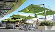 "Shademaker Orion 9'7"" Square Cantilever Umbrella"