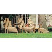 Adirondack Chair and Footstool Set